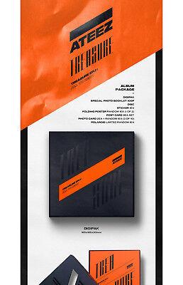 ATEEZ TREASURE EP.1:ALL TO ZERO Album CD+P.Book+Sticker+Poster+PostCard SET+Card 4
