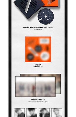 ATEEZ TREASURE EP.1:ALL TO ZERO Album CD+P.Book+Sticker+Poster+PostCard SET+Card 5