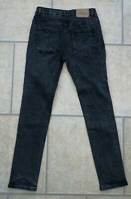 Boys Black Skinny Jeans Age 12 Years From La Radoute in EXCELLENT CONDITION. 2