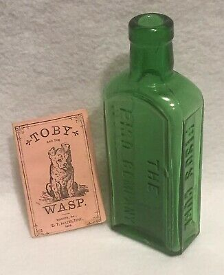 Antique 1883 Toby and the Wasp Booklet Piso's Cure for Consumption Medicine Rare 8
