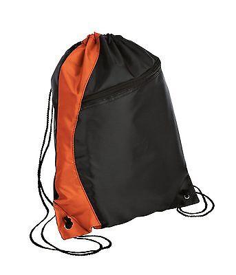 7295dae6c874 ... NEW Colorblock Drawstring Backpack Cinch Sack School Tote Gym Bag Sport  Pack 2