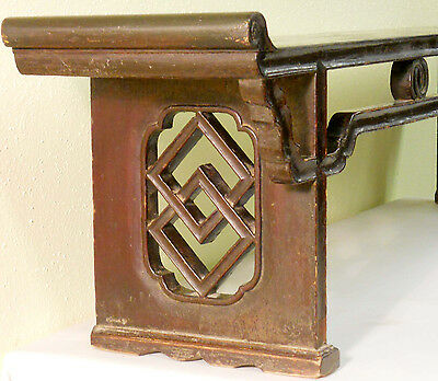 Antique Chinese Zither Table (3266), Zelkova Wood, Ming Style, Circa 1800-1849 5