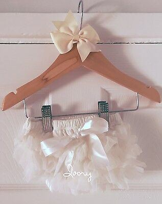 Deluxe Girls Baby Frilly Tutu Knickers Cake Smash Photoshoot 1st Birthday Outfit 10
