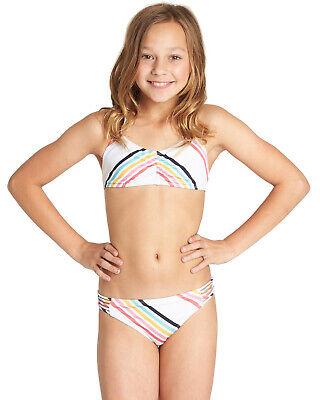 Costume da bagno due pezzi bambina Billabong bikini mare ragazza costumi junior 3