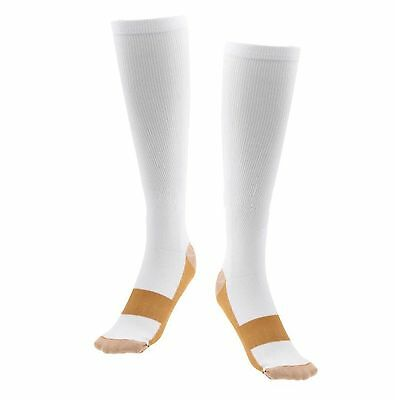 Copper Compression Socks 20-30mmHg Graduated Support Men's Women's S-XXL 3 Pairs 6