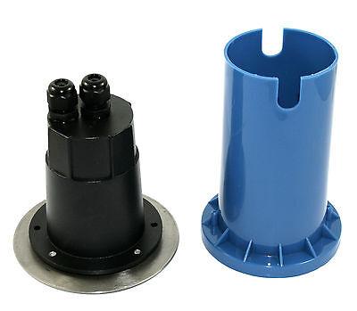 eckig Led Bodeneinbaustrahler Bodo 3W 230V Einbaustrahler Außenleuchte rund