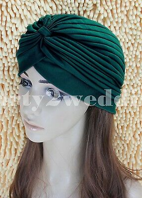 Ladies Stretch Headcover Head Wrap Beanie Chemo Bandana Animal Print Hat Turban 10