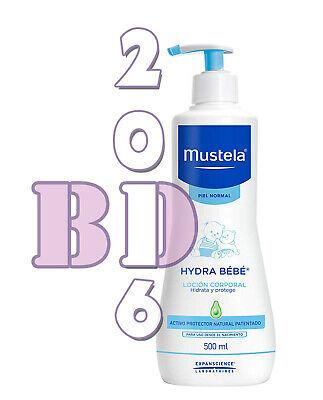 3 x Gentle Cleansing Gel Mustela Baby Skin Hair Body Cleanser Hypoallerg. 500ml 2