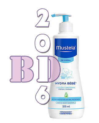 Baby Gentle Cleansing Gel Mustela Skin Hair Body Cleanser Hypoallergenic 500ml 2