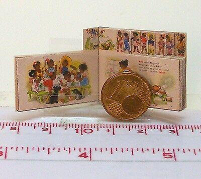 1033# Miniatur Kinderbuch M1zu12 Struwwelchen Puppenstube Puppenhaus