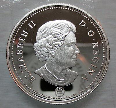 2010 Canada 50 Cents Proof Silver Half Dollar Heavy Cameo Coin 2