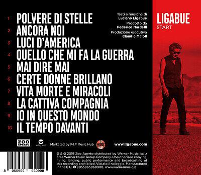 Ligabue Start Cd Nuovo Sigillato 2