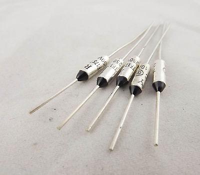 10 Pcs Fuji Microtemp Thermal Fuse 115℃ TF Cutoff 1A 250V