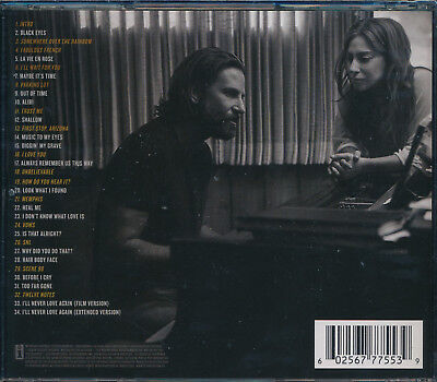 A Star Is Born CD Soundtrack NEW Lady Gaga Bradley Cooper 2