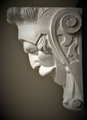 Soldier Wall Corbel Bracket Shelf Architectural Accent Home Decor 2