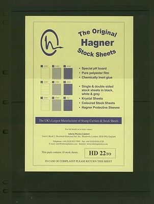 Hagner Double Sided Stamp Album Stock Pages 2