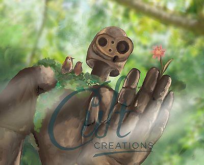 Studio Ghibli Laputa Castle in the Sky Guardian Robot fan art signed print 2