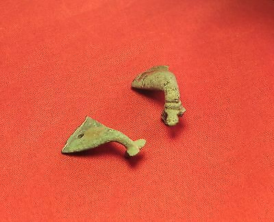Rare Ancient Celtic Bronze Horse Ornaments