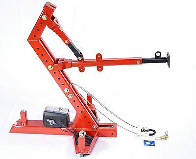 THE MIGHTY DUKE Power Pull Md301Fp Portable Frame Machine Autobody ...