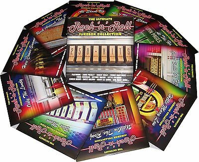 Rock n Roll 10 CDs 250 Hits The Ultimate Jukebox Collection Of 50s 60s Music New 3