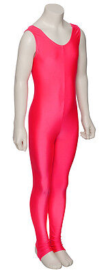 Ladies Girls Coral Ballet Dance Gym Sleeveless Catsuit Lycra KDC011 By Katz 3
