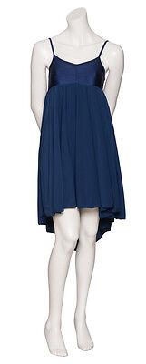 Donne Ragazze Blu Navy Lirico Abito Contemporaneo Balletto Danza Costume Da Katz 8
