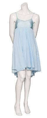 Donne Ragazze Blu Pallido Lirico Abito Contemporaneo Balletto Danza Costume 3