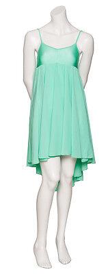 Donne Ragazze Verde Menta Lirico Abito Contemporaneo Balletto Danza Costume 4