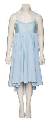 Donne Ragazze Blu Pallido Lirico Abito Contemporaneo Balletto Danza Costume 5