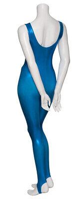 Kingfisher Shiny Metallic Dance Catsuit Unitard Katz Dancwear KDC011 SECONDS 2