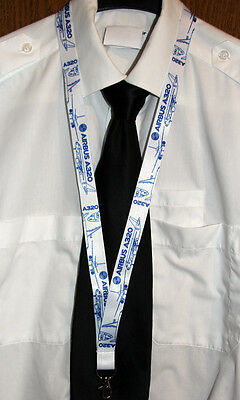 Lanyard Airbus A320 BLUEPRINT keychain neckstrap for Pilots Engineers LANYARD