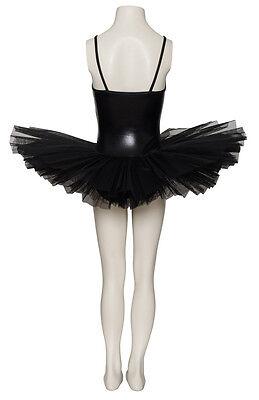 Nero Metallizzato Halloween Da Fata Ballet Strega Cigno Costume Tutu Katz 2