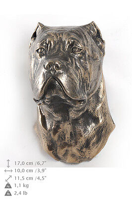 Cane Corso, dog statuette to hang on the wall, UK 4