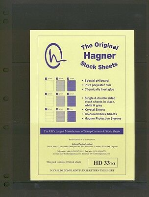 Hagner Double Sided Stamp Album Stock Pages 3
