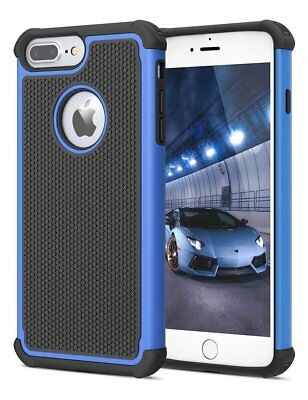 For iPhone 5 SE 6S 8 7 Plus Phone Case Hybrid Shockproof Armor Hard Cover 7