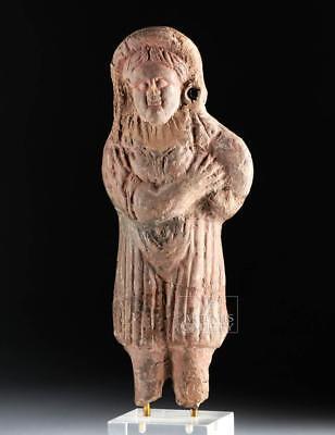 Romano-Egyptian Terracotta Statuette of a Female Lot 16