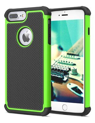 For iPhone 5 SE 6S 8 7 Plus Phone Case Hybrid Shockproof Armor Hard Cover 5