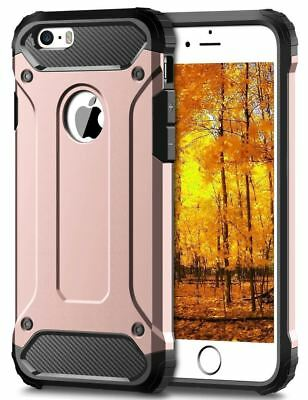 Hybrid Armor Shockproof Rugged Bumper Case For Apple iPhone 10 X 8 7 Plus 6s 5s 12