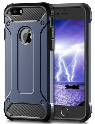 Hybrid Armor Shockproof Rugged Bumper Case For Apple iPhone 10 X 8 7 Plus 6s 5s 11