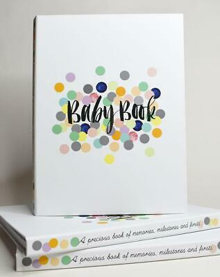 NEW Rhicreative Special Edition Baby Book Gift Keepsake Photo Memories & Firsts 3