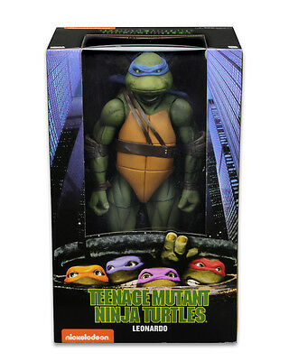 "MICHELANGELO Teenage Mutant Ninja Turtles 1990 Movie 18/"" 1//4 Scale Figure Neca"