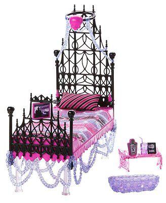 """Monster High Spectra Vondergeist  Floating Bed """"rare"""" - Bnib"""