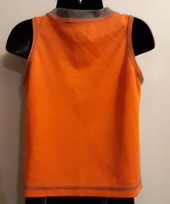 Grey '2 Fast 4 You 2 Catch' Sleeveless Shirt by Healthtex: Boy's 24M 2