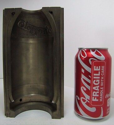 Orig Snapple Bottle Mold heavy industrial machinery equipment tool Doorstop Art