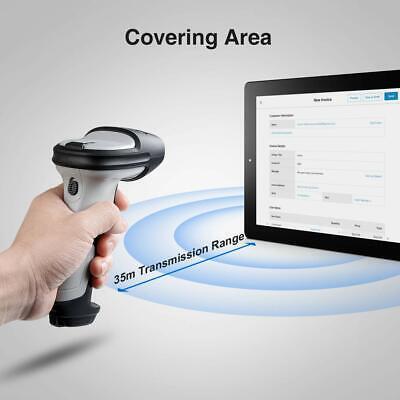 Inateck Bluetooth Barcode Scanner Wireless Laser USB Scan Gun Label Reader 3