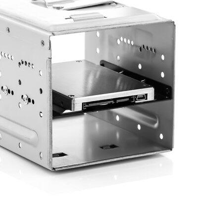 """HDD / SSD Einbaurahmen 3,5"""" für 2,5"""" Festplatten PC Computer Halterung Adapter"""