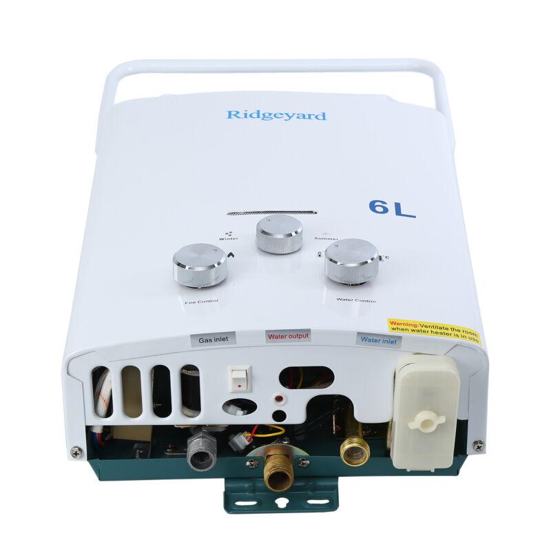 6 /8 /12/18L Chauffe eau au NG/LPG instantané à gaz propane butane Chaudière 4