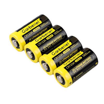 20-Pack 3V 1300mAh 16340 Flashlight 85177 CR123A High Power Li-Ion Batteries Hot 2