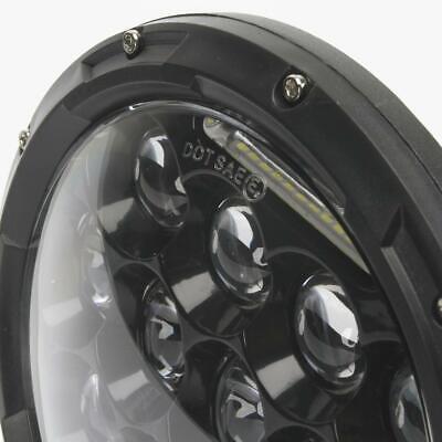 2X 7 Inch Round 280W Total LED Headlights Hi/Lo for 97-17 JEEP JK TJ LJ Wrangler 5
