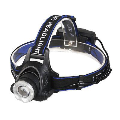 450000Lumen T6 LED Zoomable Headlamp USB Rechargeable 18650 Headlight Head Light 4